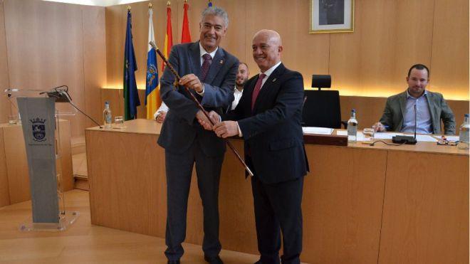 José Juan Cruz Saavedra elegido alcalde de Tías