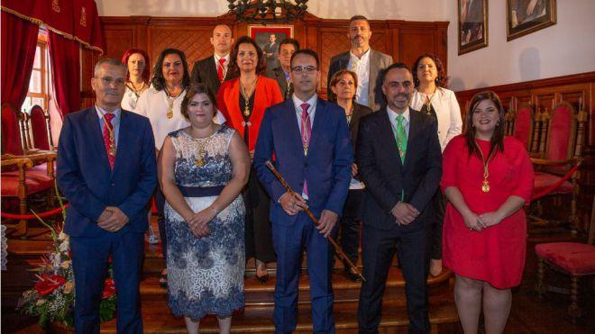 Constituido el Ayuntamiento de San Sebastián de La Gomera