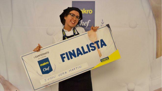 La alumna de Hecansa Ivon Vera es elegida para participar en la final nacional del concurso Makro Chef España 2019