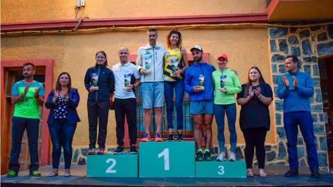 107 corredores participaron en la I Trail 'K-21 Formón Trail' de Vallehermoso
