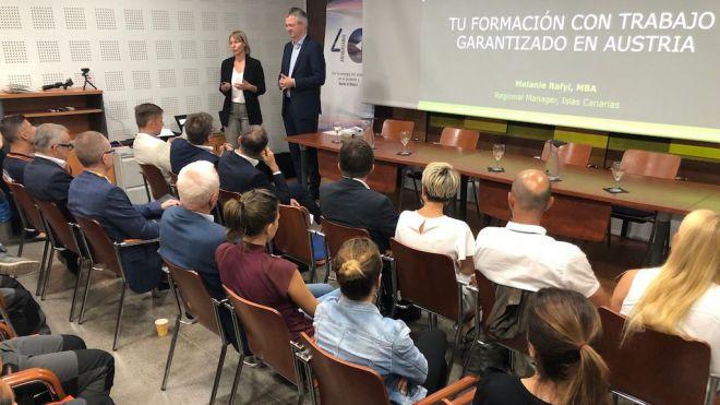 Empresas de Austria buscan personal cualificado en Canarias