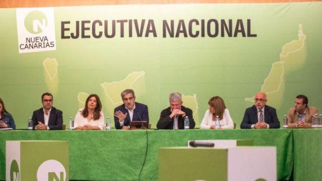 NC apoyará al PSOE pero no descarta explorar otras alternativas