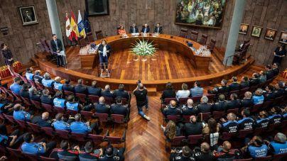 Fernando Clavijo reconoce a las policías locales y autonómica en el día de la Policía Canaria