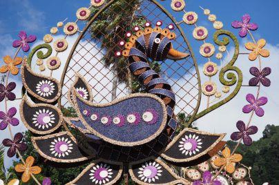 Los arcos del Corpus Christi llenan de color las principales calles de Villa de Mazo