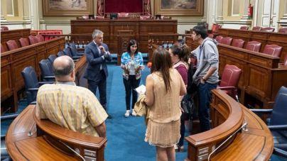 El Parlamento culmina las obras para acoger a los 70 diputados y ultima el nuevo portal de 'open data'