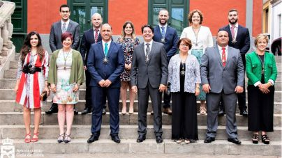 Pedro Martín constituye el nuevo equipo de gobierno de Guía de Isora