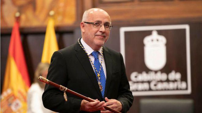 Antonio Morales proclamado presidente de Gran Canaria