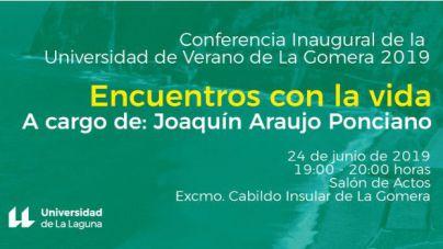 Joaquín Araujo y Francis Pérez abren esta tarde una nueva edición de la Universidad de Verano de La Gomera