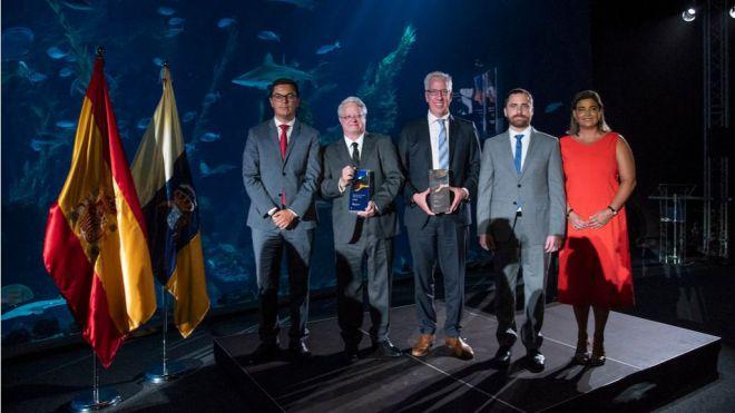 El trofeo de los Premios de Turismo Islas Canarias logra el bronce en los galardones Canarias de Diseño 2019