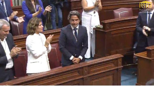 Gustavo Matos, nuevo presidente del Parlamento de Canarias