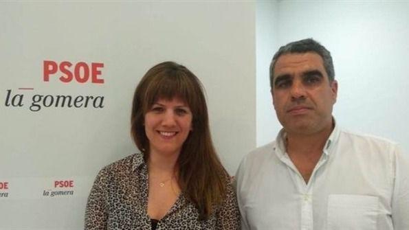El PSOE expulsa provisionalmente a los dos concejales de Valle Gran Rey
