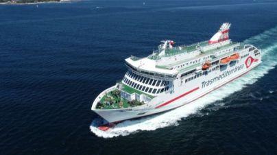 El nuevo buque Villa de Teror rinde homenaje a la Patrona de Gran Canaria