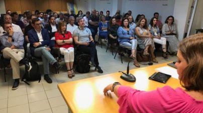 Clavijo asume la Presidencia de CC en el Parlamento de Canarias y Barragán será portavoz