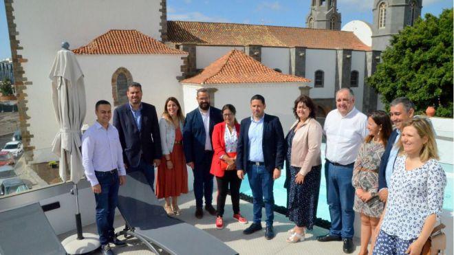 """Héctor Suárez: """"El turismo es una fuente de creación de empleo en Telde"""""""