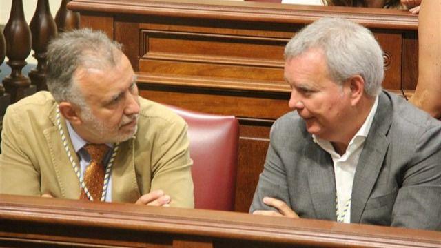 Sebastián Franquis asume la portavocía del Grupo Socialista en el Parlamento