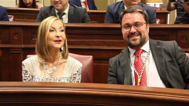 Australia Navarro presidirá el grupo parlamentario del PP de Canarias