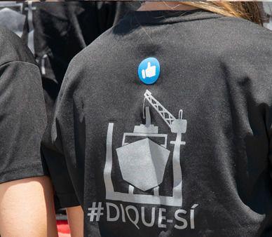 Tenerife Shipyards pide a la Autoridad Portuaria que muestre su apoyo al dique flotante con hechos