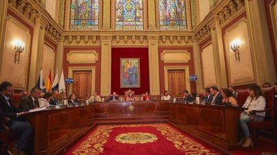 El Ayuntamiento de Santa Cruz de Tenerife libera 11 concejales y congela los salarios