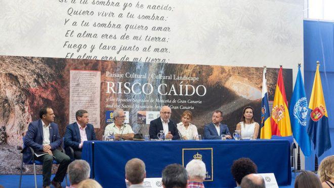 El Cabildo ya tiene en marcha la constitución de la Fundación de Risco Caído y las Montañas Sagradas de Gran Canaria