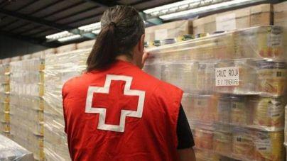Cruz Roja reparte 400 toneladas de alimentos en la provincia de Santa Cruz de Tenerife