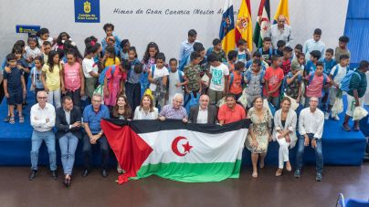 Más de 60 menores saharauis disfrutan de sus Vacaciones en Paz en Gran Canaria