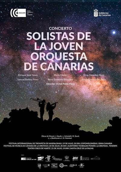La Joven Orquesta de Canarias inicia esta semana su gira sinfónica estival