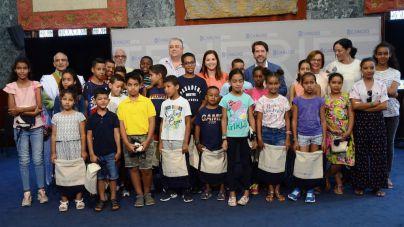 Tenerife recibe, un año más, a los niños saharauis que pasan sus vacaciones en la Isla