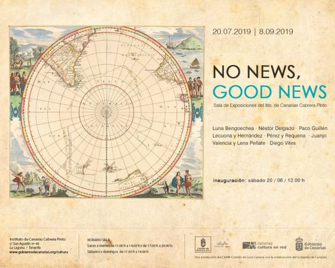 'No news, good news' reúne a siete destacadas firmas de la actual escena plástica canaria en la Sala Cabrera Pinto