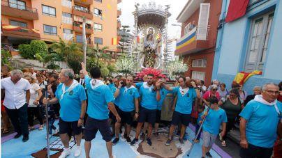 El núcleo de La Carrera recibe este domingo a la Virgen del Carmen, fiel a una cita de 40 años de historia
