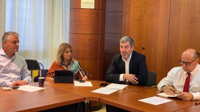 CC pide el apoyo de la cámara y del Gobierno en sus reclamaciones al Estado en materia de Aguas