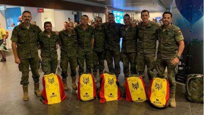 Los integrantes del Regimiento de Artillería Antiaérea Nº 94 regresan a Gran Canaria tras su misión en Turquía