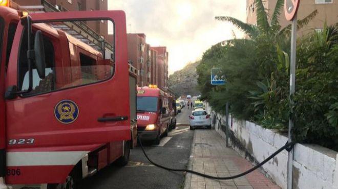 Una mujer fallece en el incendio de su vivienda en Las Palmas de Gran Canaria