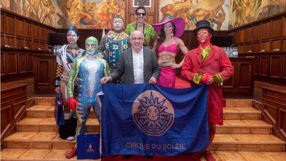 El Circo del Sol rueda un vídeo de Gran Canaria para mostrar al mundo sus bellezas