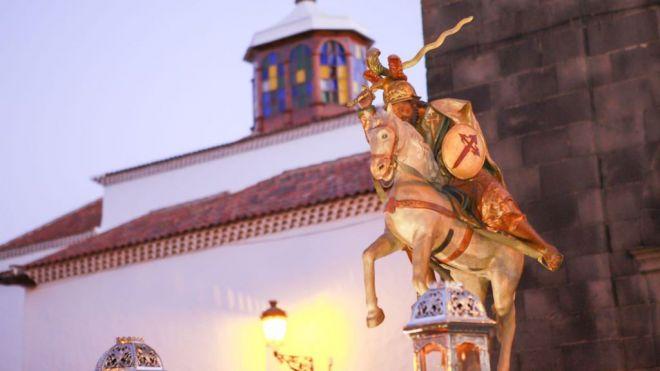 Santa Cruz de Tenerife celebra el día de su patrón