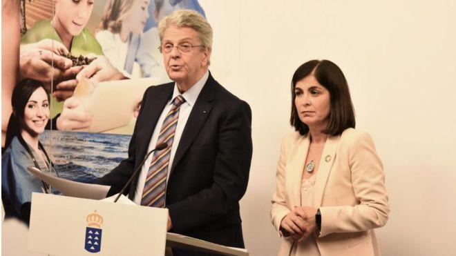 """Carolina Darias fija la última EPA como """"el punto de partida"""" para mejorar los datos de ocupación y desempleo en Canarias"""