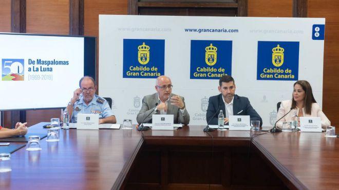 Gran Canaria celebra su protagonismo en el primer alunizaje realizado hace 50 años por la Misisón Apolo XI