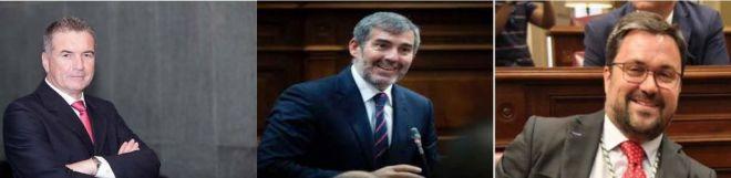 El Parlamento designa a Pedro Ramos (PSOE), Clavijo (CC) y Antona (PP) como senadores por la Comunidad Autónoma