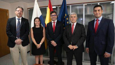 Castilla preside la toma de posesión de Justo Artiles Sánchez, Ciprián Rivas Fernández y Fernando Miñarro Mena