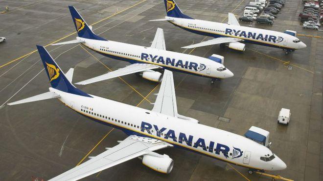 Sindicatos convocan una huelga ante la intención de Ryanair de cerrar las bases de Gran Canaria y Tenerife
