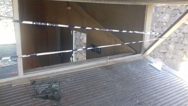 El Pabellón de Deportes Ana Bautista sufre un ataque de vandalismo por parte de tres jóvenes
