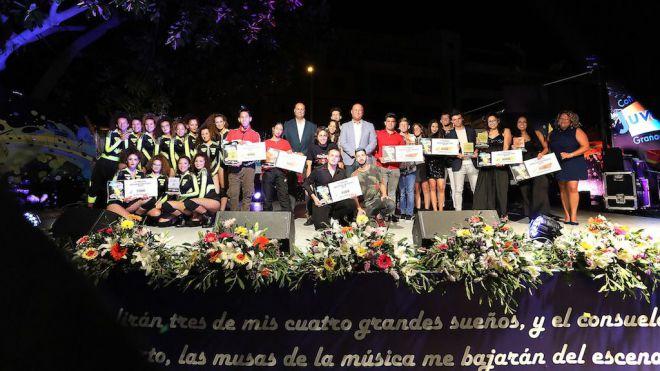 Alana Martín y Solid Synergy se alzan con las granadas de oro en canción solista y grupo musical