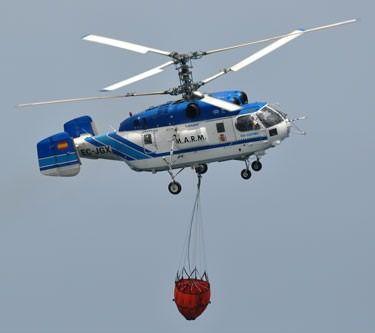 CC-PNC reiteran la necesidad de que se fije en Canarias una base fija de helicópteros Kamov