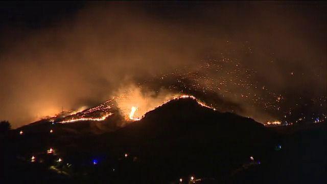 El incendio de Gran Canaria fuera de control quema ya 3.400 hectáreas