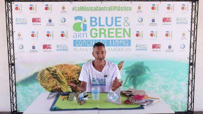 El Blue & Green de Arona ofrece ideas para reutilizar los vasos biodegradables del Festival