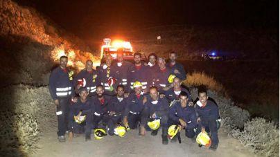 El Ayuntamiento agradece la labor de los cuerpos de seguridad y emergencias para sofocar el incendio en Haría