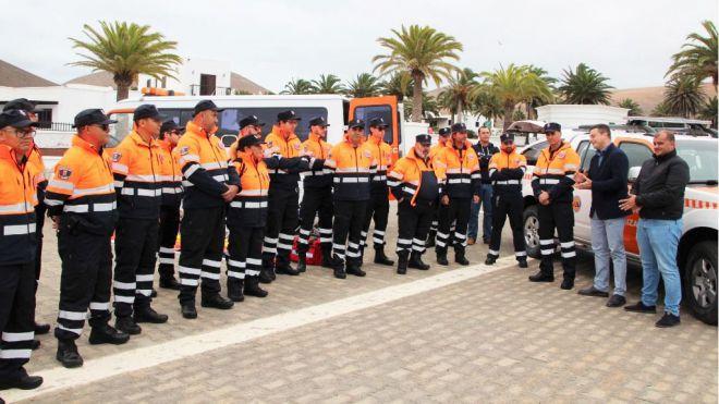 Protección Civil de Yaiza abre campaña de captación de más voluntarios por la creación de nuevas unidades de servicios