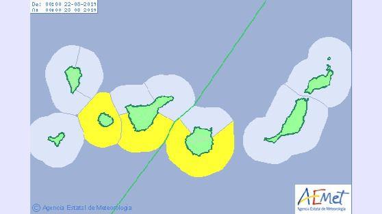 Finaliza la Alerta por Temperaturas Máximas en islas occidentales y Gran Canaria