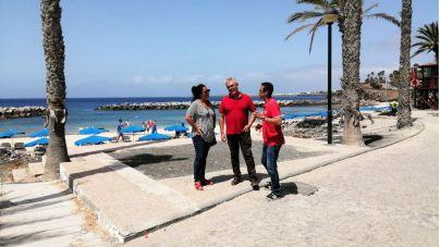 Yaiza abre al baño Playa Flamingo tras nuevas pruebas sobre la calidad de sus aguas