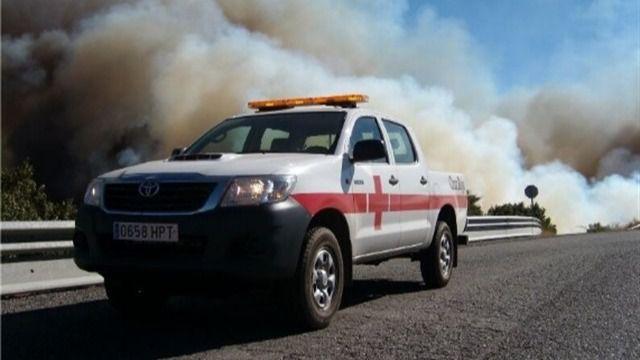 Cruz Roja da asistencia psicológica a casi 5.000 personas en el incendio de Gran Canaria