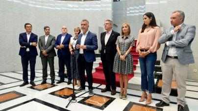 El presidente de Canarias agradece a todos los partidos políticos el apoyo recibido durante los tres incendios